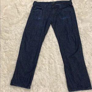 Armani J866 Men's Jeans 33X29 Dark Blue